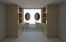 Baño remodelación vivienda: Baños de estilo  por Madera de Arquitecto