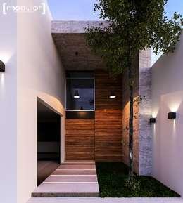獨棟房 by Modulor Arquitectura