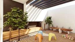 Projekty,  Taras zaprojektowane przez Modulor Arquitectura