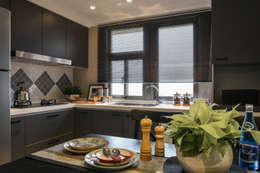 存果空間設計有限公司의  주방 설비