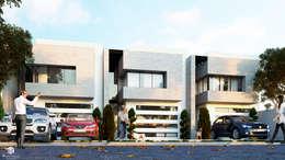 Residencial, Miahuatlán: Casas de estilo moderno por 3h arquitectos