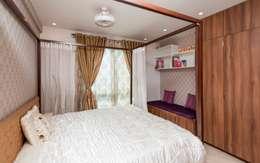 Guest Bedroom: modern Bedroom by Vivek Shankar Architects