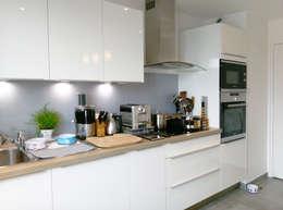 modern Kitchen by Agence Delphine Coipel