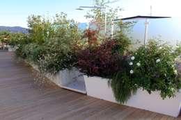 Terrazas de estilo  de Andrea Pelleriti progettazione giardini