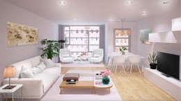 Salas / recibidores de estilo escandinavo por 3Deko
