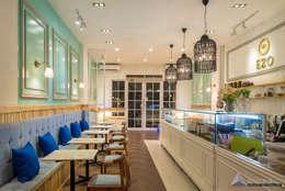EZO Cheesecakes & Bakery, Pantai Indah Kapuk, Jakarta:  Ruang Makan by Evonil Architecture