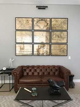 estudio: Salas de estilo ecléctico por Ecologik