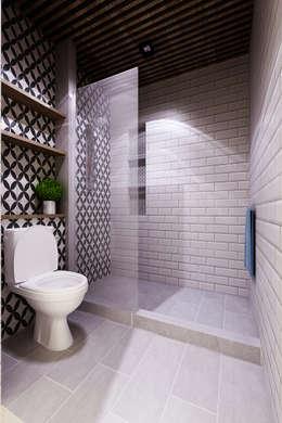 Rumah Tinggal Bpk Beni:  Kamar Mandi by samma design