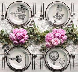 Primavera: Cucina in stile in stile Moderno di Massimiliano Toniol