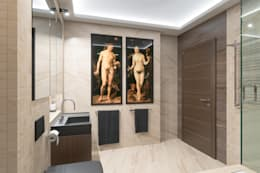 Baños de estilo industrial por MIODESIGN