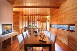 RUSTICASA | Casa unifamiliar | Sintra: Salas de jantar modernas por Rusticasa