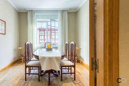 Salas de jantar modernas por CCVO Design and Staging