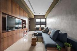 غرفة المعيشة تنفيذ 齊禾設計有限公司