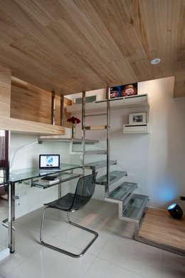 modern Study/office by 齊禾設計有限公司