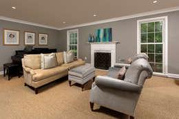 Salas de estar clássicas por BOWA - Design Build Experts