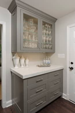 Whole House Design Build Renovation in Bethesda, MD: classic Kitchen by BOWA - Design Build Experts