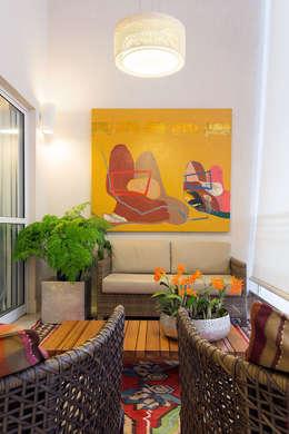 Projekty,  Salon zaprojektowane przez Daniel Almeida Arquitetura