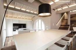 Projekty,  Jadalnia zaprojektowane przez Rachele Biancalani Studio - Architecture & Design