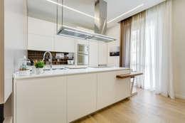 Projekty,  Kuchnia zaprojektowane przez EF_Archidesign