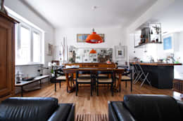 Comedores de estilo ecléctico por Chantal Forzatti architetto