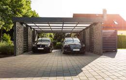 Carport by Steelmanufaktur Beyer