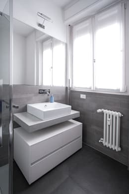 modern Bathroom by Chantal Forzatti architetto