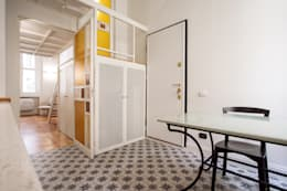 modern Corridor, hallway & stairs by Chantal Forzatti architetto
