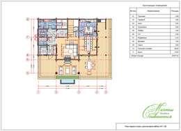 Дом-баня: Дома в . Автор – Компания архитекторов Латышевых 'Мечты сбываются'