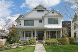 Fire Restoration in Chevy Chase Creates Opportunity for Whole House Renovation:  Single family home by BOWA - Design Build Experts