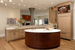 Fire Restoration in Chevy Chase Creates Opportunity for Whole House Renovation: classic Kitchen by BOWA - Design Build Experts