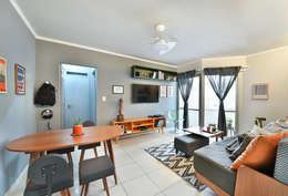 modern Living room by Move Móvel  Criação de Mobiliário