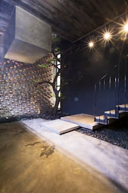 STH - Nhà thang:  Vườn by deline architecture consultancy & construction