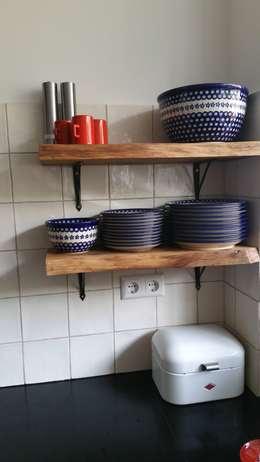 Open keuken : moderne Keuken door Vine Home Design