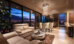 Metropolitan Center: Salas de estilo moderno por Enrique Serrano  |  Fotógrafo de Arquitectura e Interiores
