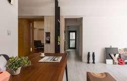 樸.淨:  餐廳 by 築川室內裝修設計有限公司