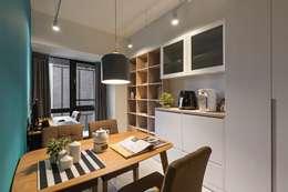 غرفة السفرة تنفيذ 築川室內裝修設計有限公司
