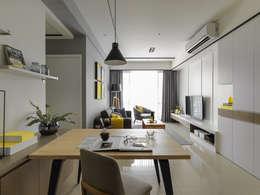 غرفة السفرة تنفيذ 存果空間設計有限公司
