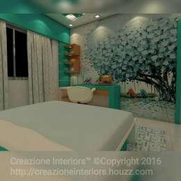 : modern Bedroom by Creazione Interiors