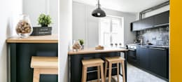 minimalistic Kitchen by IDeALS | interior design and living store