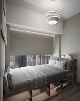modern Bedroom by Nelson W Design