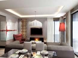 Salas de estar modernas por Vero Concept Architects