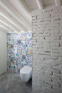 Projekty,  Łazienka zaprojektowane przez MIDE architetti