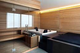 Projekty,  Sauna zaprojektowane przez MIDE architetti