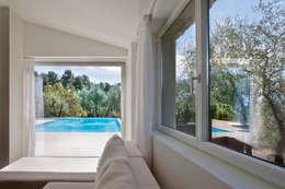 Projekty,  Sypialnia zaprojektowane przez MIDE architetti
