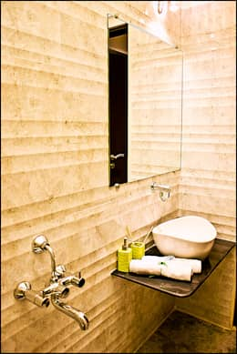 La tierra,Pune: modern Bathroom by H interior Design