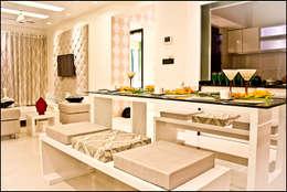 La tierra,Pune: modern Dining room by H interior Design