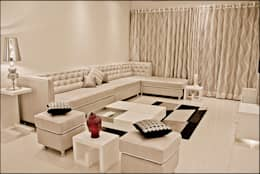 La tierra,Pune: modern Living room by H interior Design