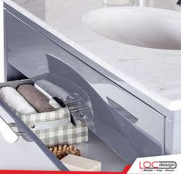 Phòng tắm by Loc Design Mutfak Banyo