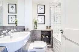 Bristol House: modern Bathroom by Maxmar Construction LTD