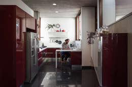 Casa Terraza: Cocinas equipadas de estilo  por Dx Arquitectos